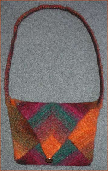 Noro Kureyon Felting Pattern For A Knit Purse
