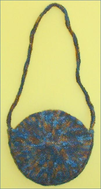 felted bag knitting pattern