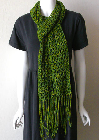 Ravelry: Knitting Meets Crochet Scarf pattern by Suzanne