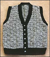 basketweave cardigan