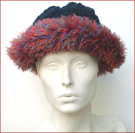 Super Eyelash Brimmed Hat