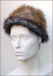 Felted Eyelash Hat