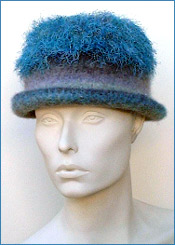 Felted  Hat Knitting Pattern