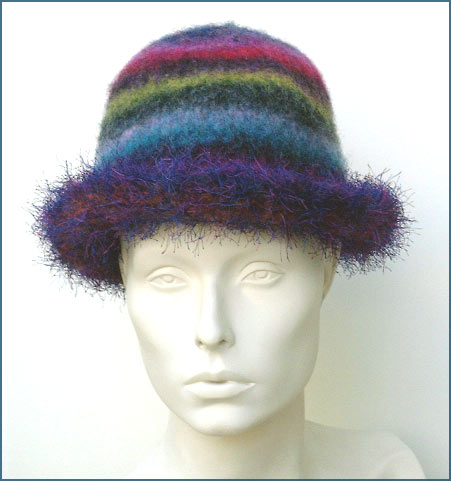 Rolled Brim Knitted Hat Pattern - Allcrafts Blogs
